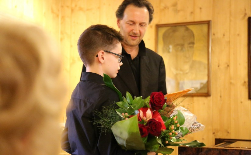 Zwycięzca I Ogólnopolskiego Konkursu Młodych Indywidualności Muzycznych ATMA – 2016